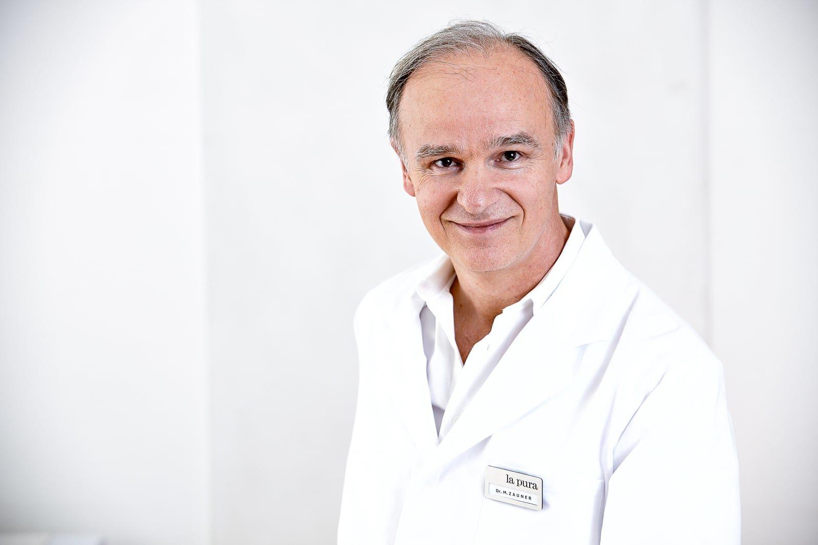 Portätbild Dr. Zauner