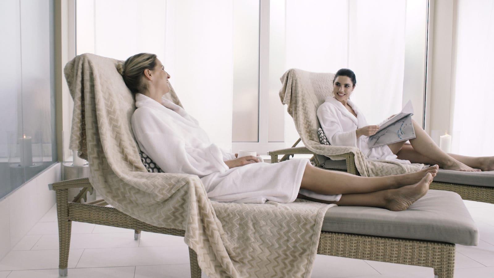 Entspannt im Liegestuhl