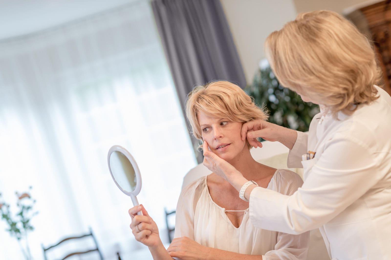 Ästhetik Untersuchung Kosmetik